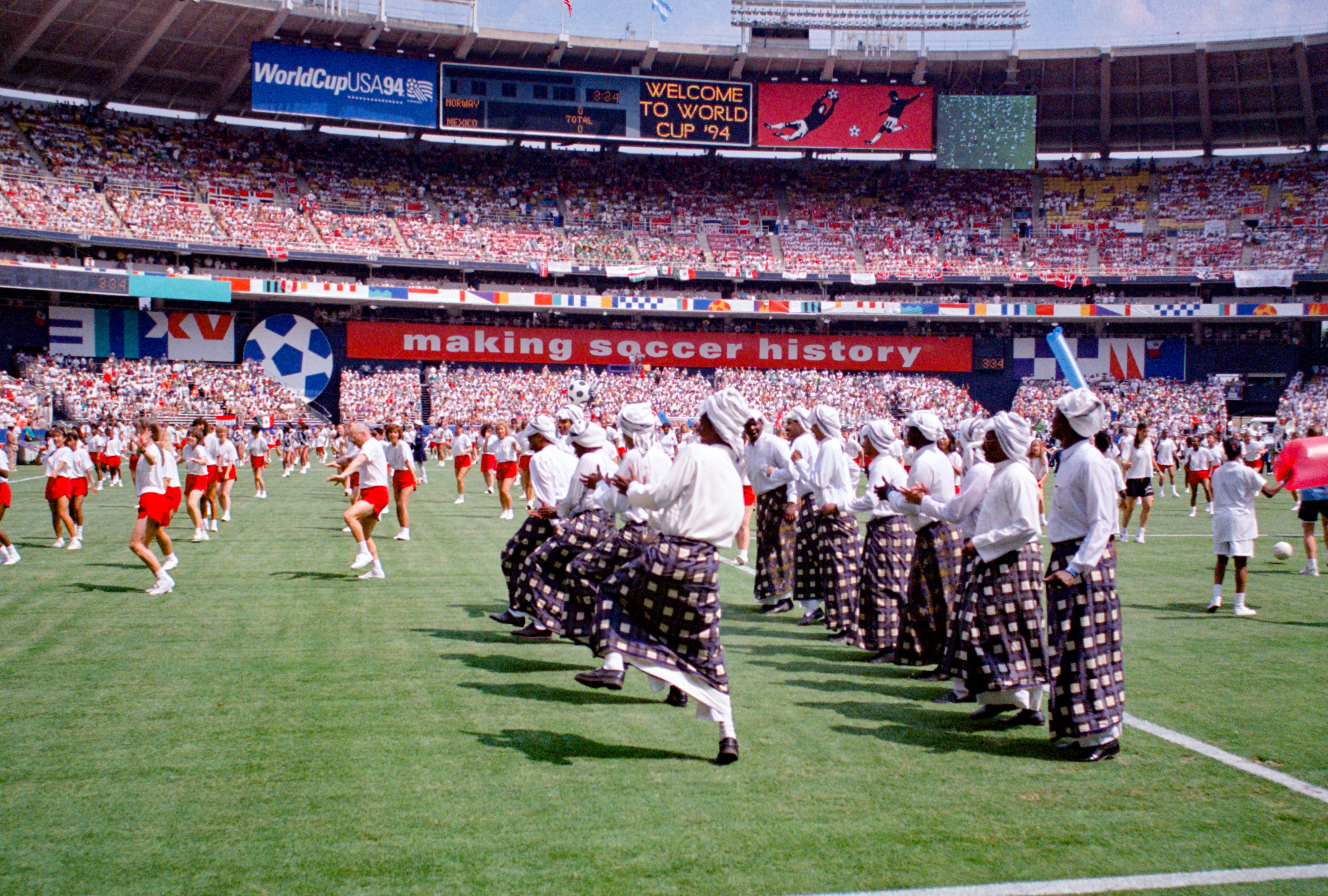 1994 World Cup at RFK Stadium (Photo by Tony Quinn)