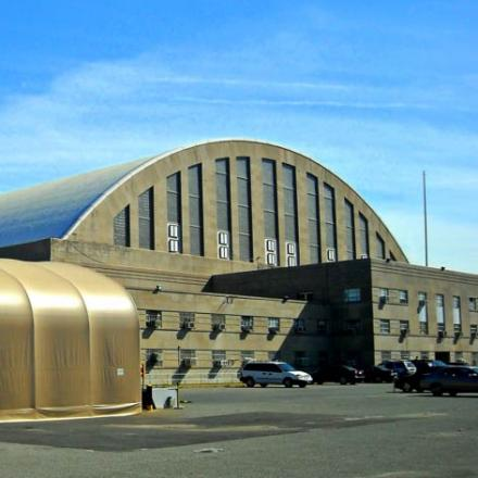 Exterior view of the DC Armory