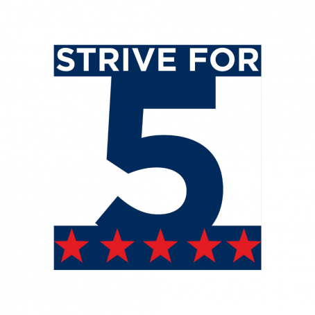 STRIVE for 5 Logo