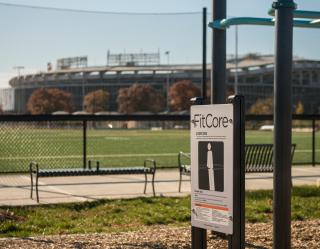 The Fields at RFK Campus fit station