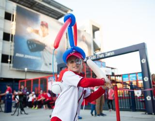 Nats Park fan shot